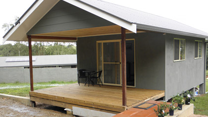 Cabin Accommodation, Byron Hinterlands