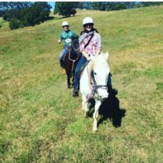 Byron Hinterland trail ride